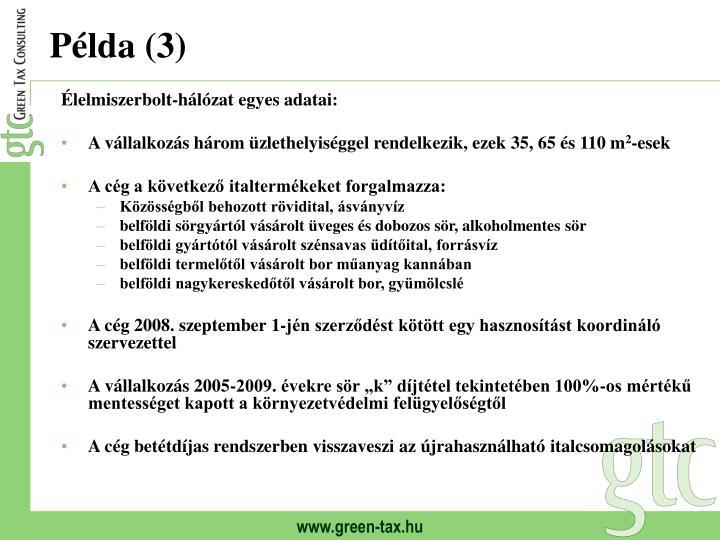 Példa (3)