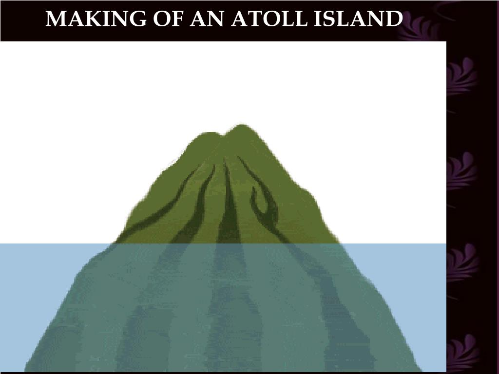MAKING OF AN ATOLL ISLAND
