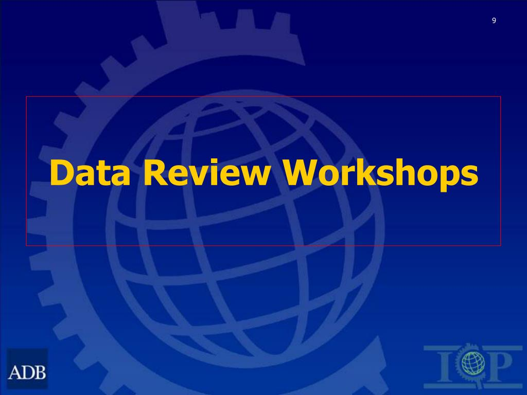 Data Review Workshops