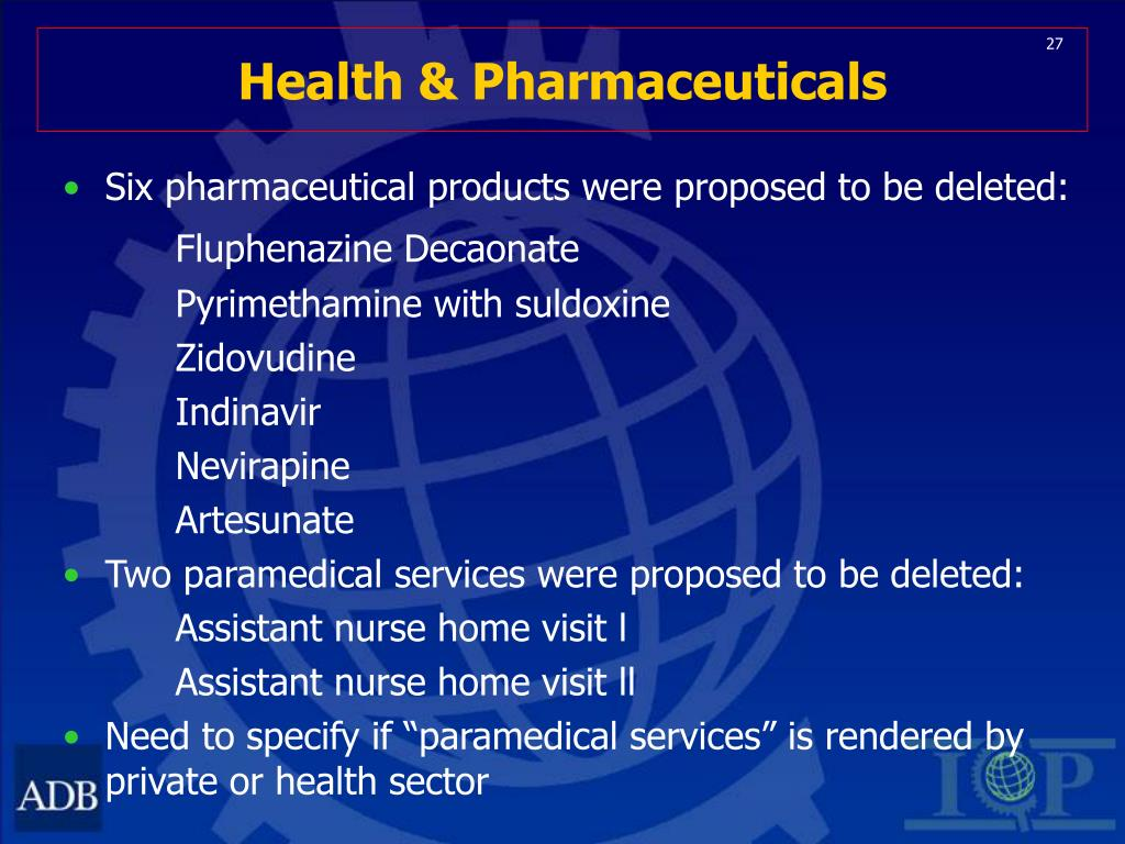 Health & Pharmaceuticals