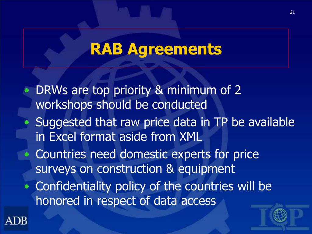 RAB Agreements