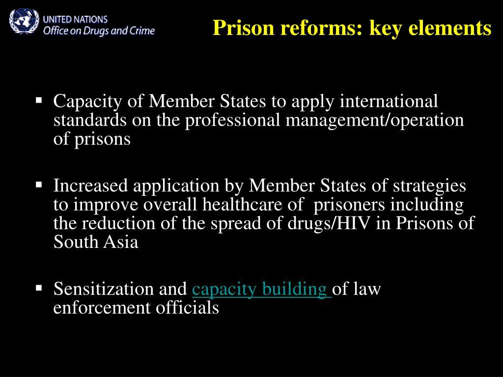 Prison reforms: