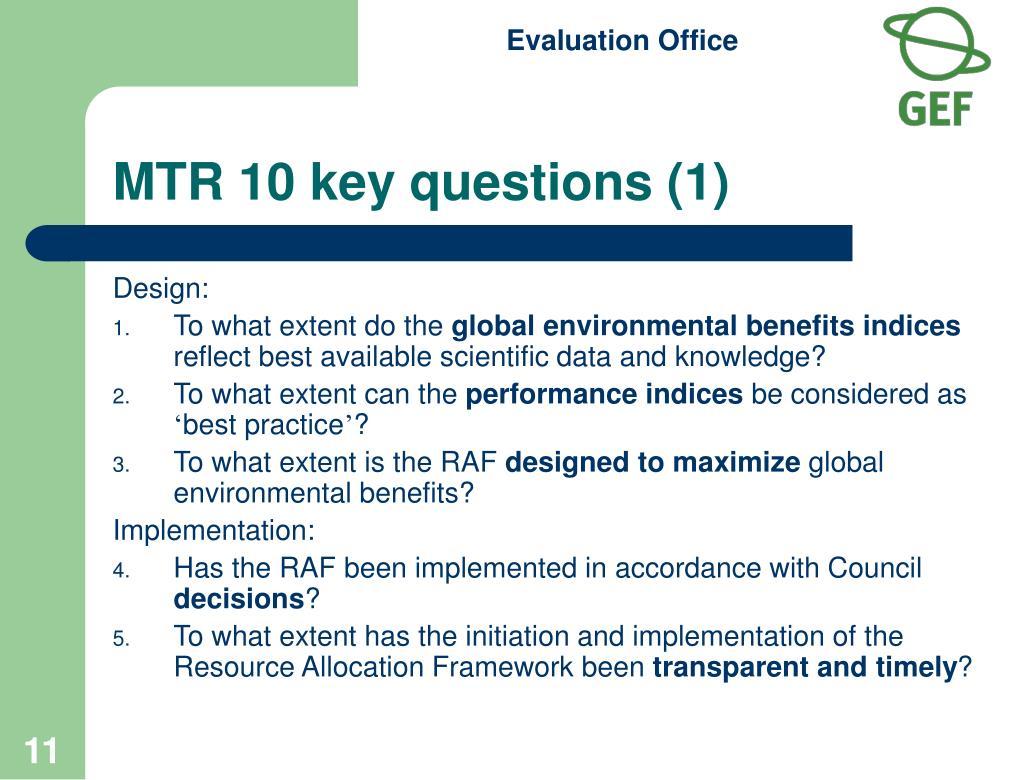 MTR 10 key questions (1)
