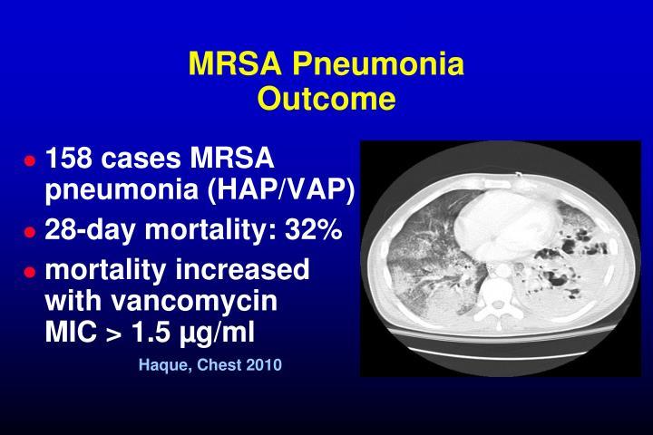 MRSA Pneumonia