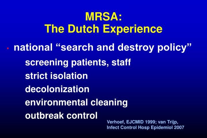 MRSA:
