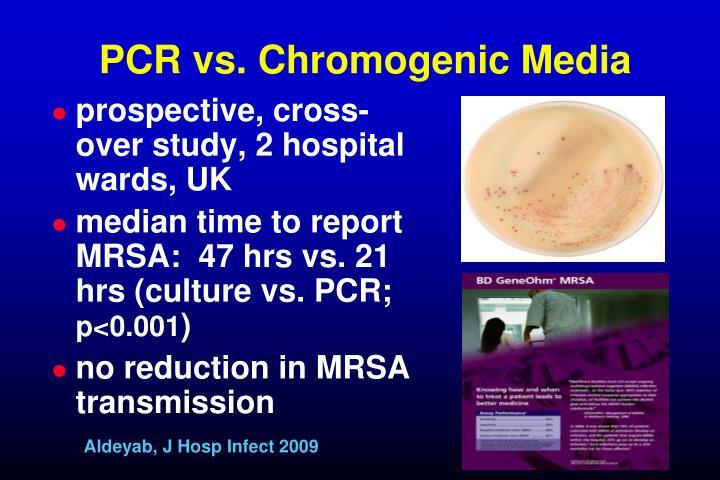 PCR vs. Chromogenic Media