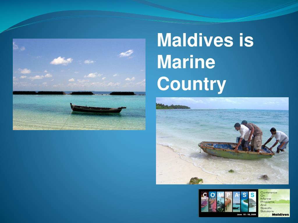Maldives is Marine Country
