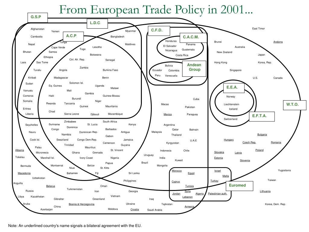 From European Trade Policy in 2001...