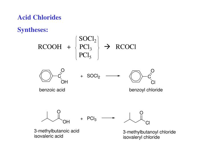 Acid Chlorides