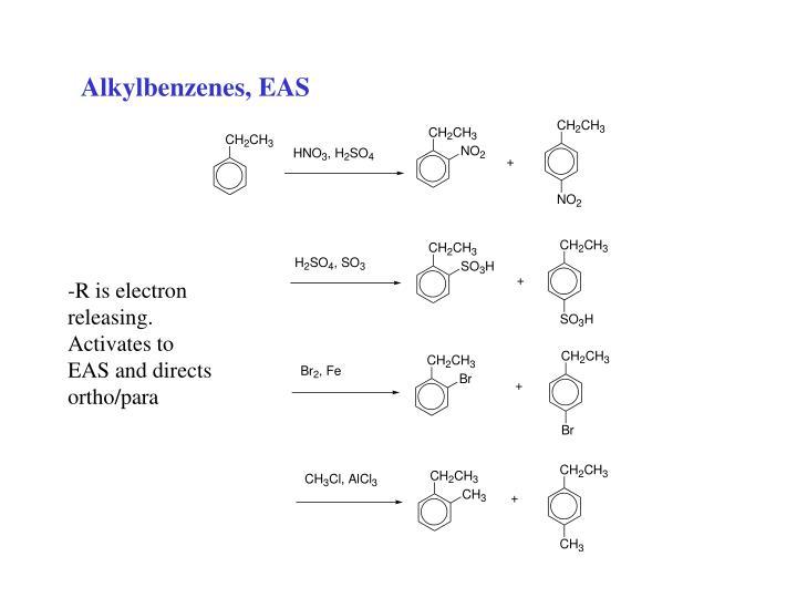 Alkylbenzenes, EAS
