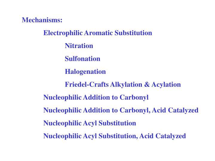 Mechanisms: