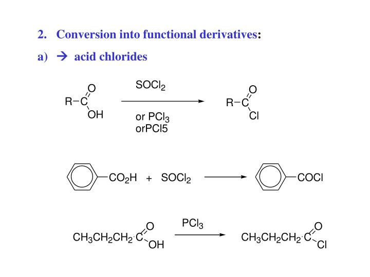 Conversion into functional derivatives