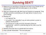 surviving se477