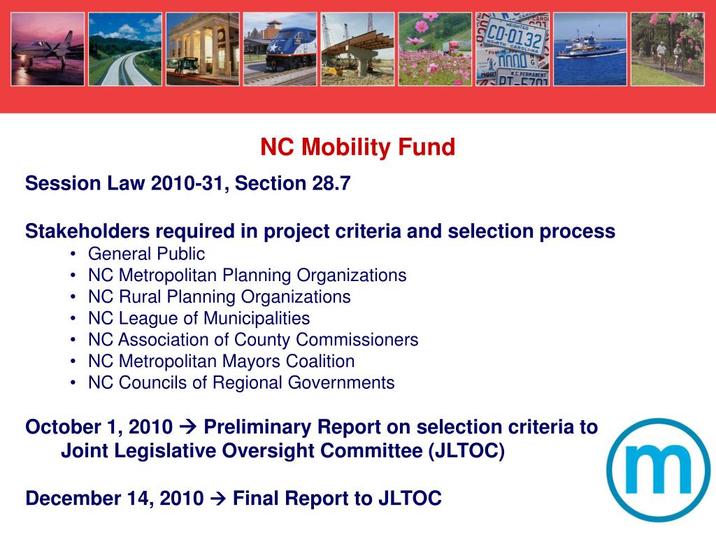 NC Mobility Fund