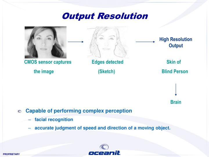 Output Resolution