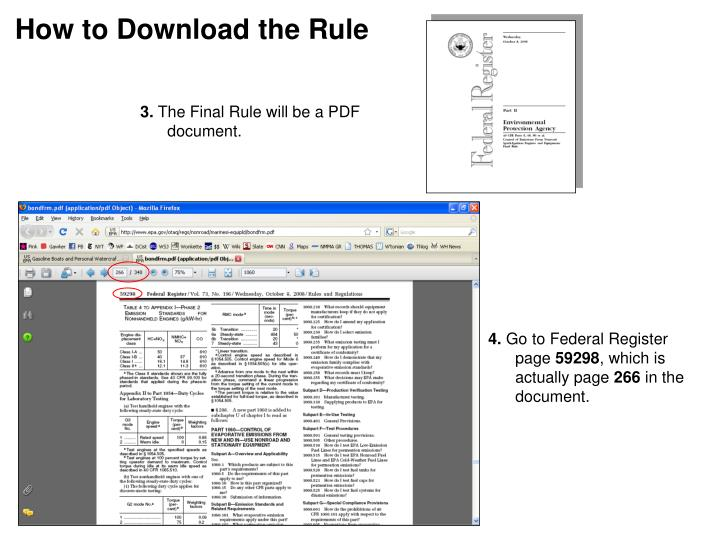 How to Download the Rule