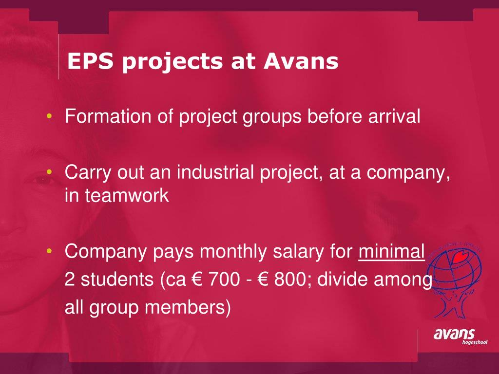 EPS projects at Avans