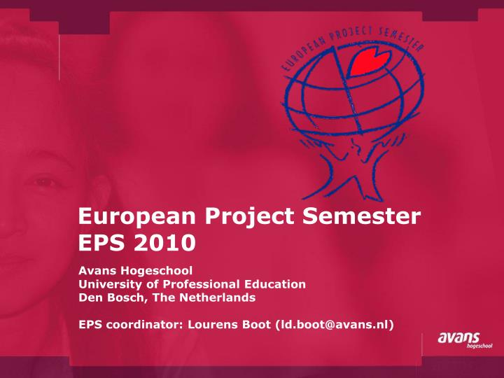 European project semester eps 2010
