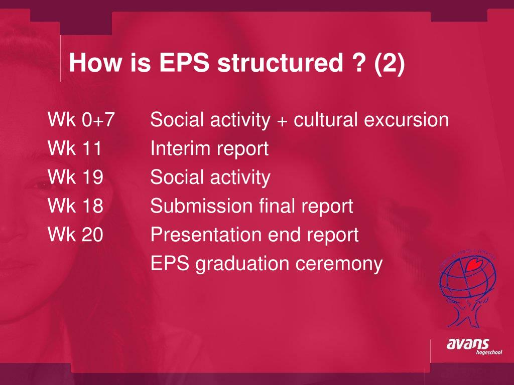 How is EPS structured ? (2)