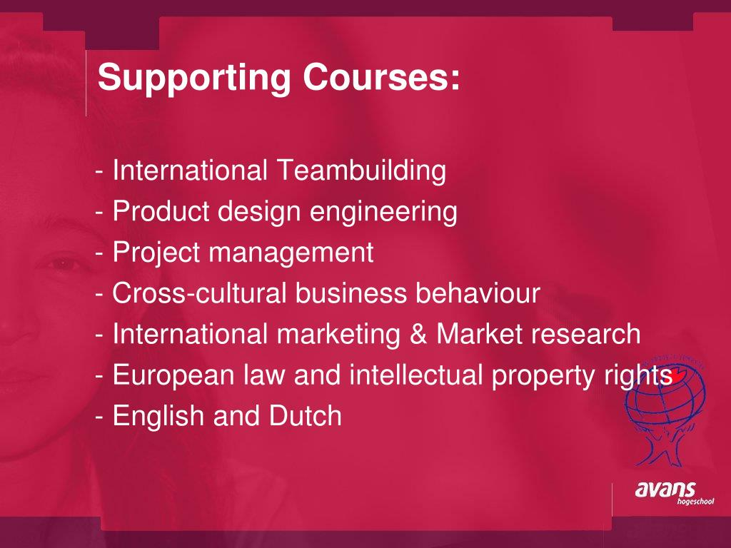 Supporting Courses: