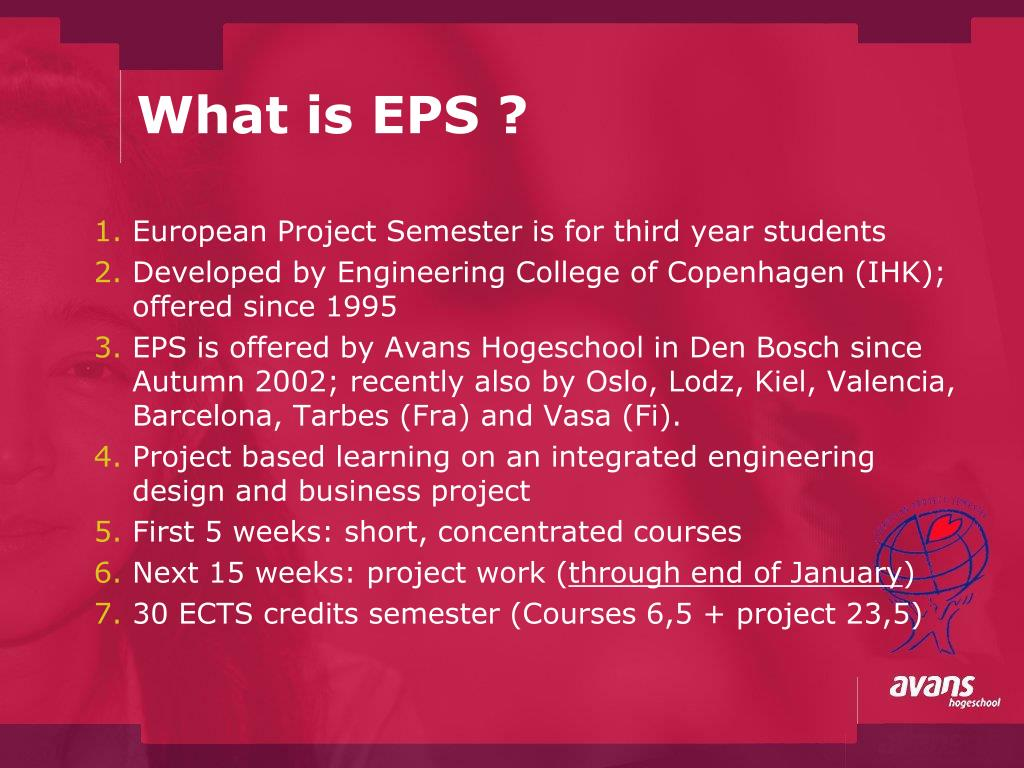What is EPS ?