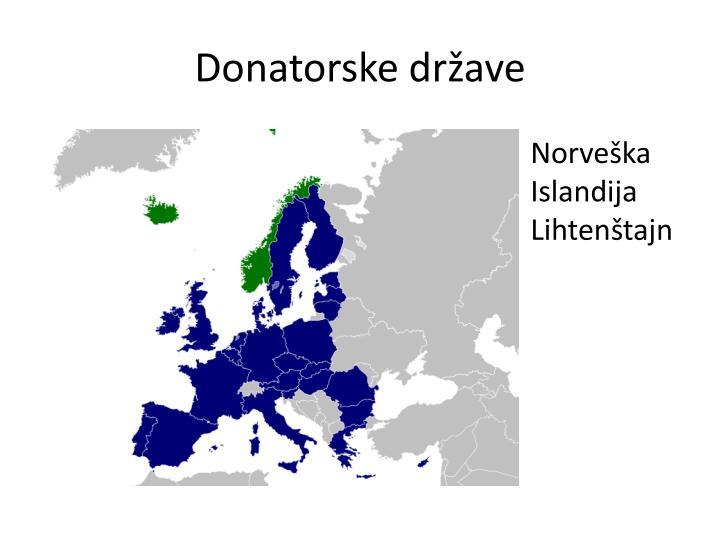 Donatorske države