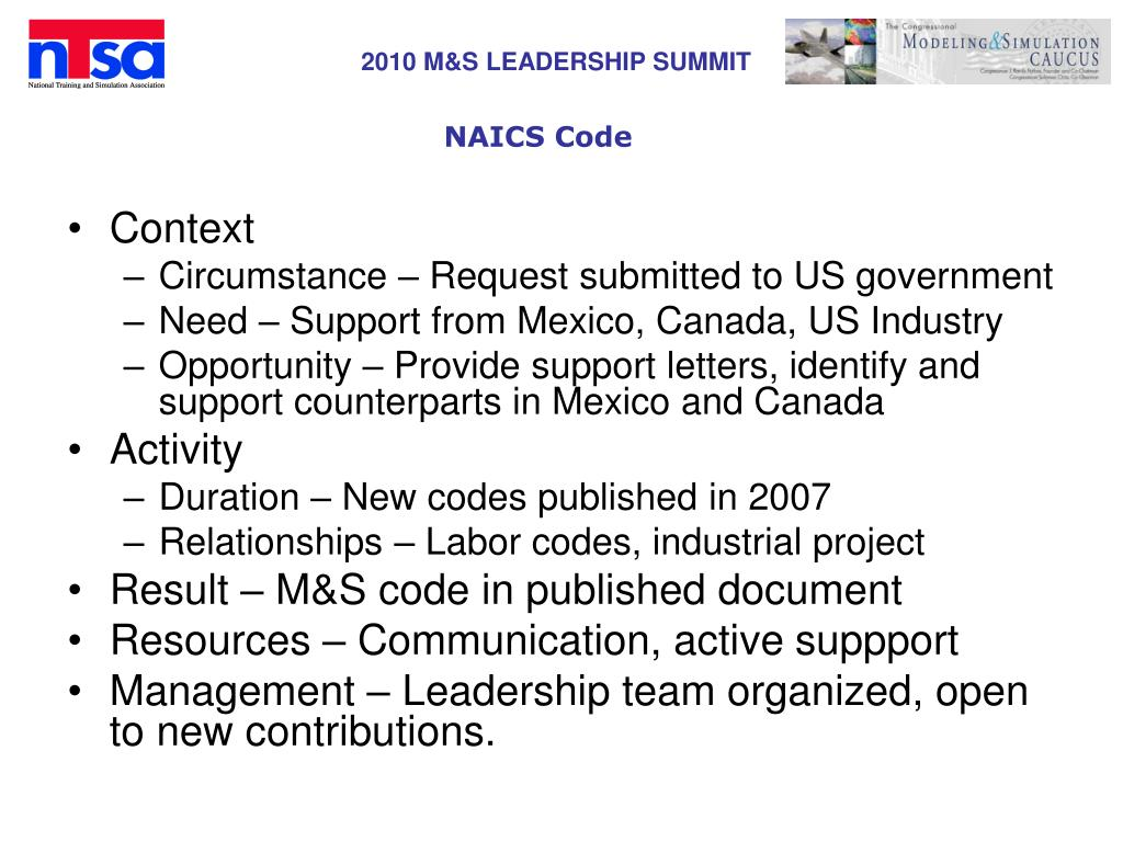 NAICS Code