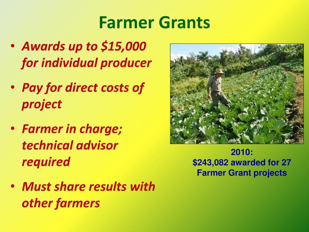 Farmer Grants