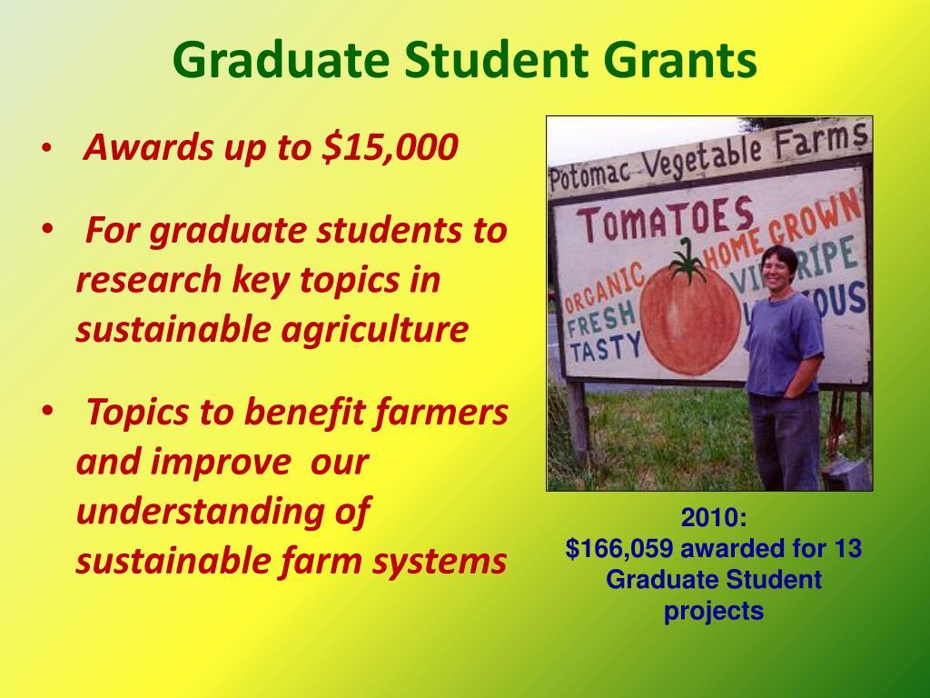Graduate Student Grants