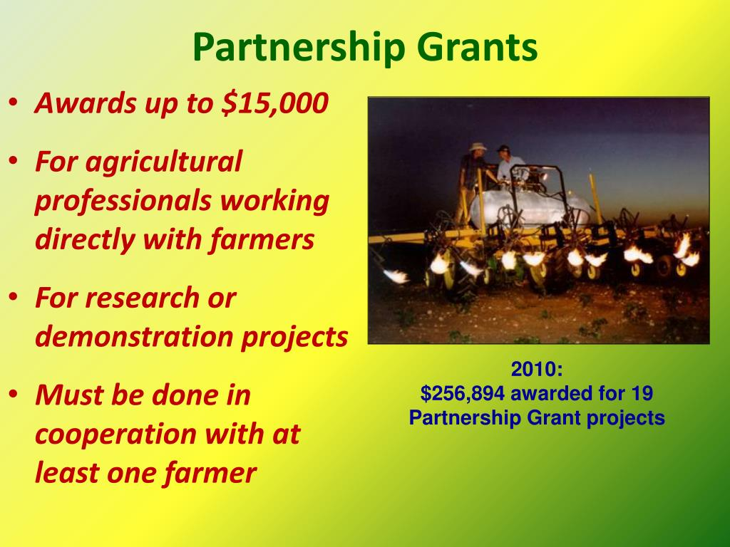 Partnership Grants
