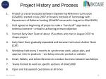 project history and process