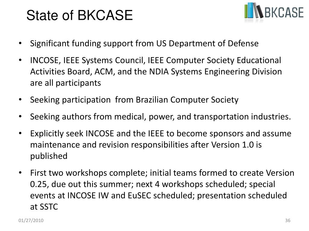State of BKCASE