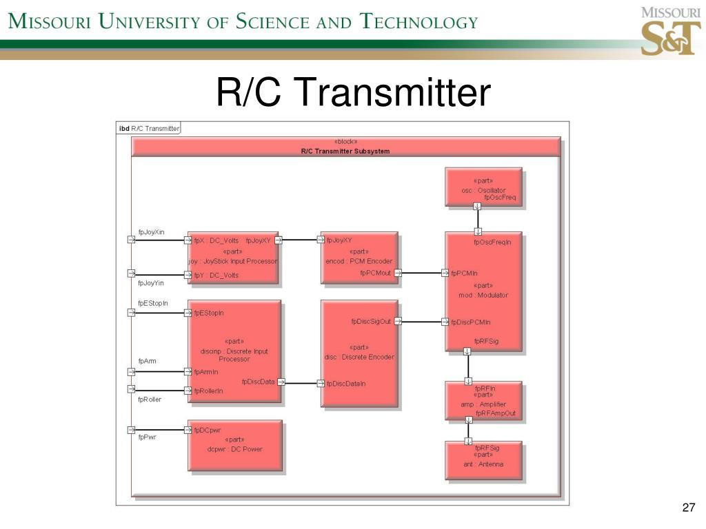 R/C Transmitter