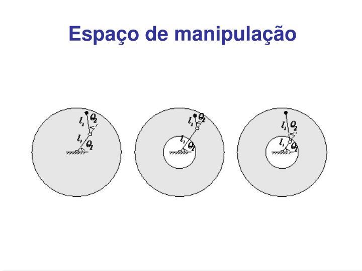 Espaço de manipulação