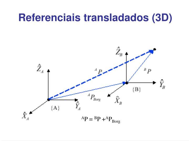 Referenciais transladados (3D)