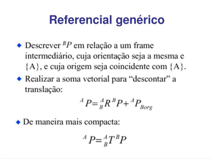 Referencial genérico