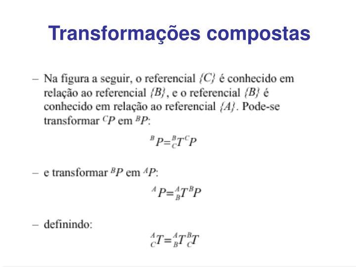 Transformações compostas