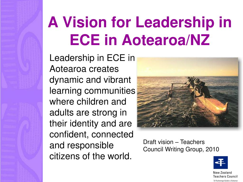 A Vision for Leadership in ECE in Aotearoa/NZ