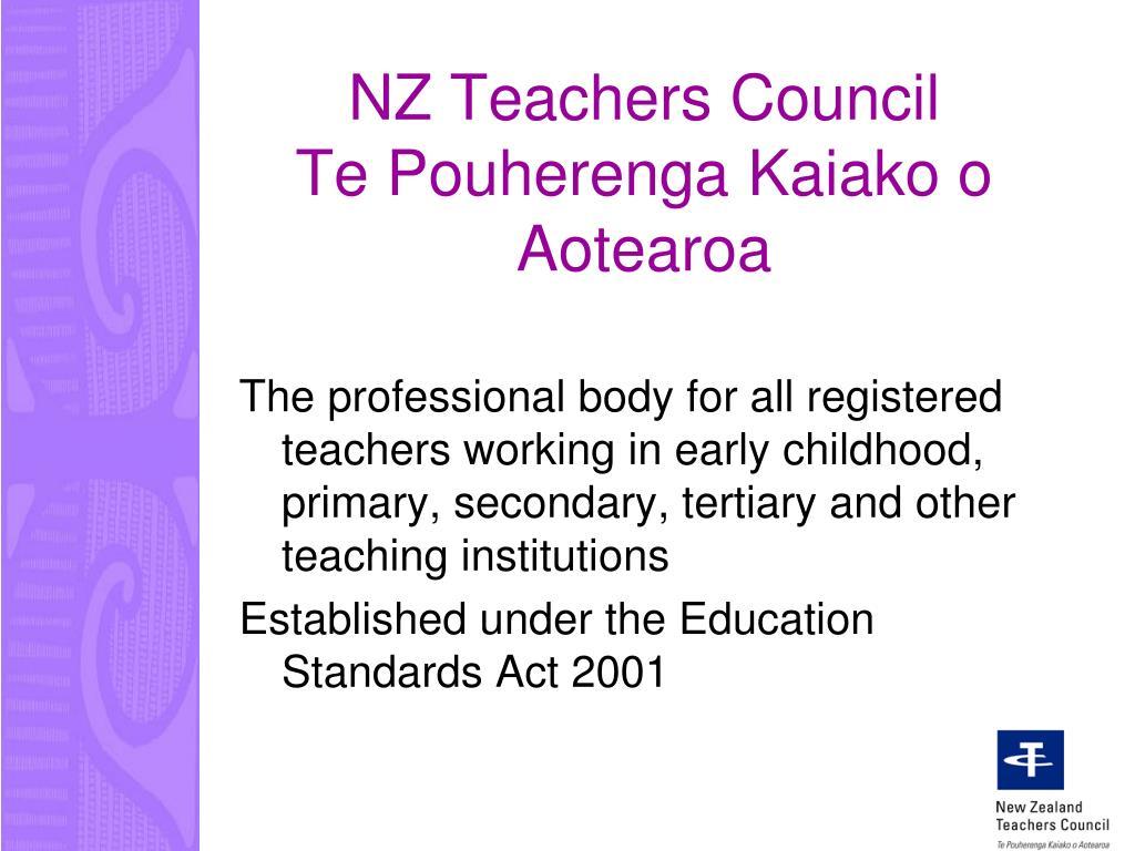 NZ Teachers Council