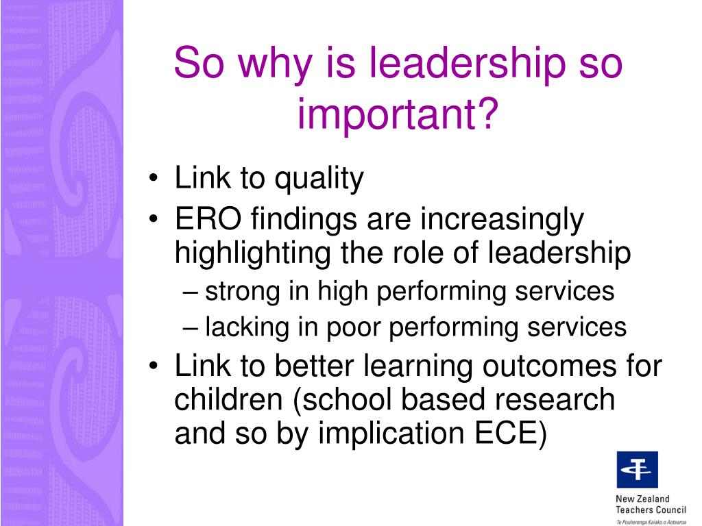 So why is leadership so important?
