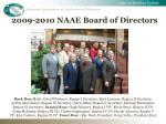 2009 2010 naae board of directors