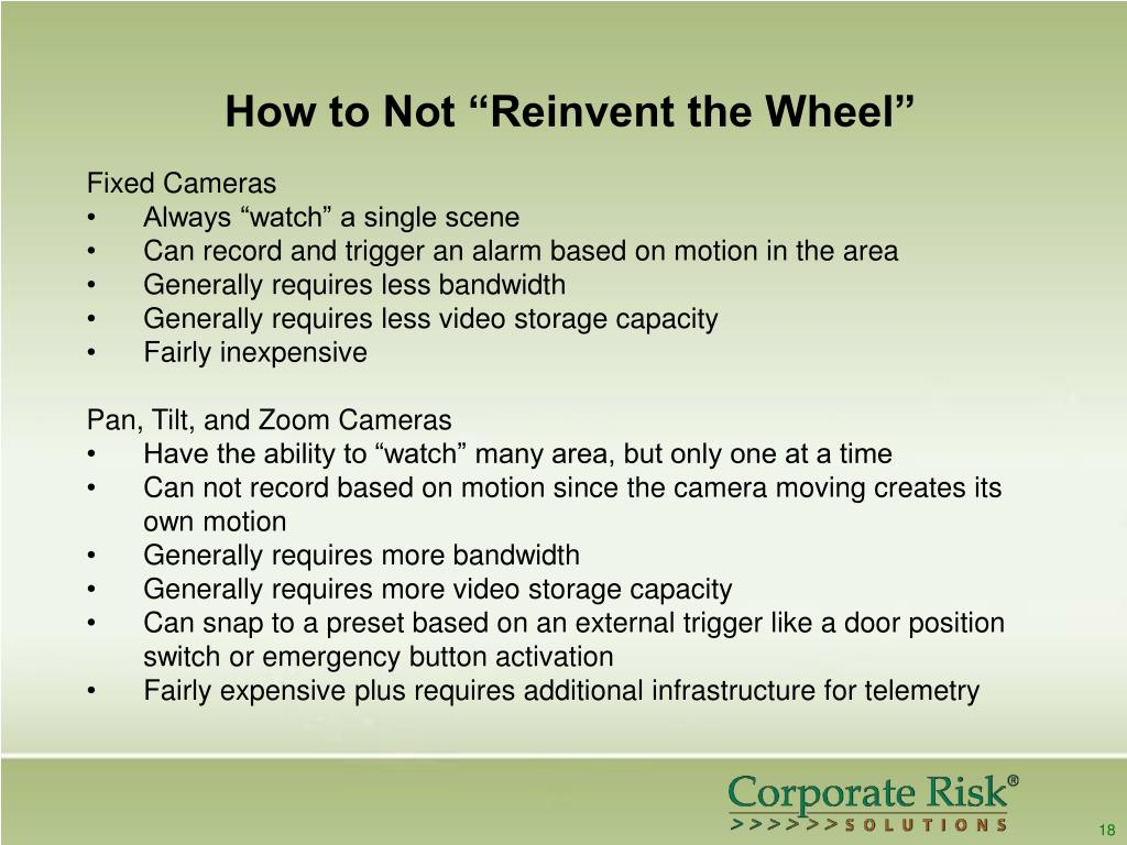 """How to Not """"Reinvent the Wheel"""""""