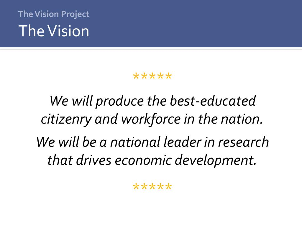 The Vision Project