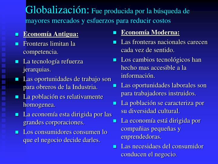 Economía Antigua: