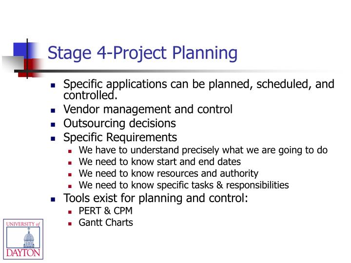 Stage 4-Project Planning