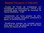 medida provis ria n 348 2007