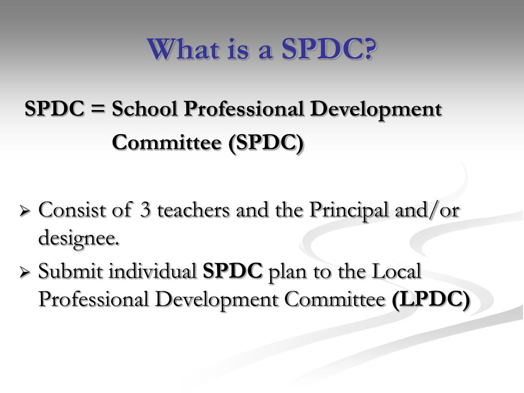 What is a SPDC?