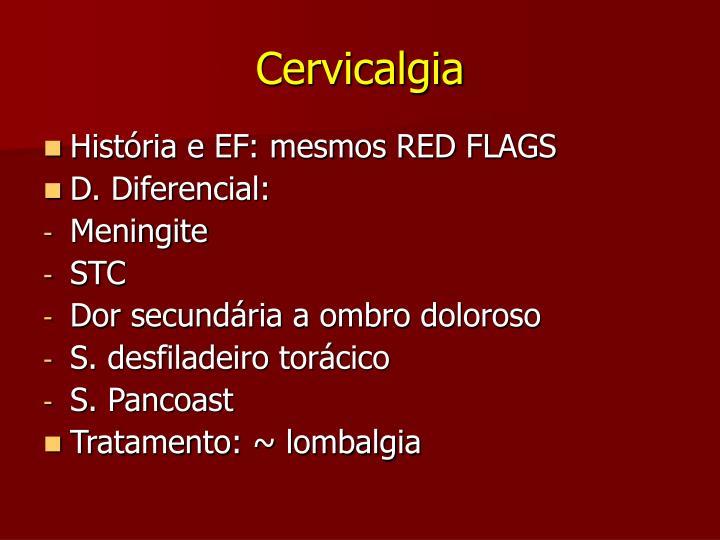 Cervicalgia