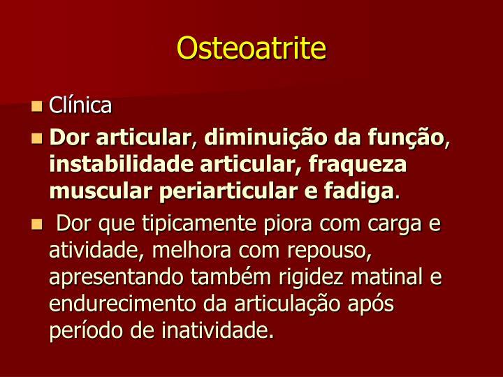 Osteoatrite