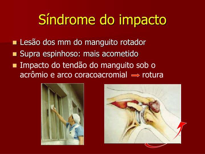 Síndrome do impacto